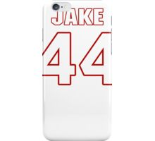 NFL Player Jake McQuaide fortyfour 44 iPhone Case/Skin