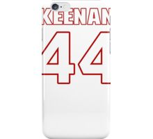 NFL Player Keenan Clayton fortyfour 44 iPhone Case/Skin