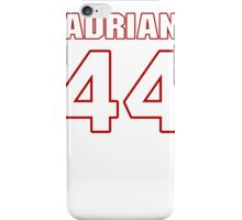 NFL Player Adrian Wilson fortyfour 44 iPhone Case/Skin