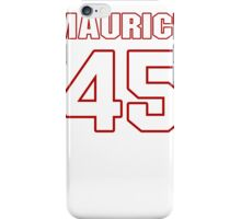 NFL Player Maurice Hagens fortyfive 45 iPhone Case/Skin