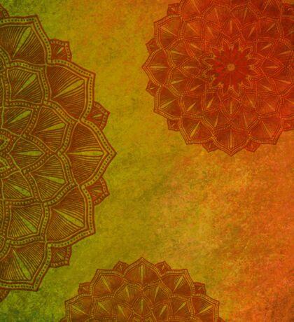 India Mandala Hindu Buddha Sticker
