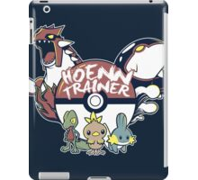 Hoenn Trainer iPad Case/Skin