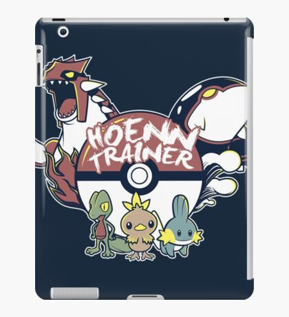 Hoenn Trainer iPad Case/Skin