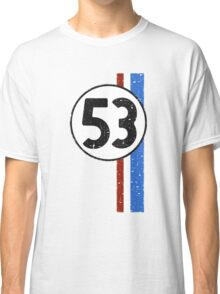 Vintage Look 53 Car Race Number Graphic Classic T-Shirt