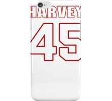 NFL Player Harvey Unga fortyfive 45 iPhone Case/Skin