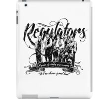 Regulators - Young Guns iPad Case/Skin
