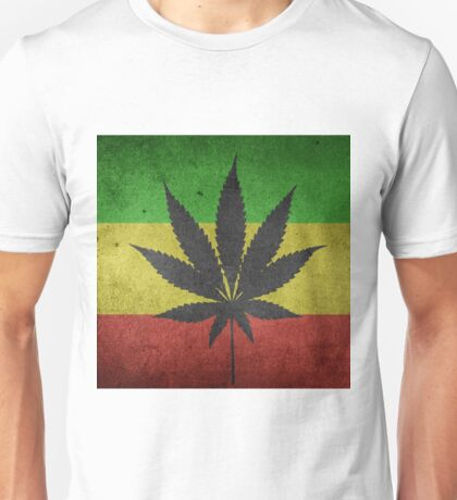 Hanf Drugs Marijuhana Unisex T-Shirt