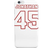 NFL Player Jonathan Brown fortyfive 45 iPhone Case/Skin