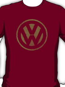 Vintage Look Volkswagen Logo Design T-Shirt