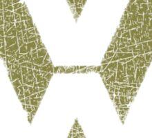 Vintage Look Volkswagen Logo Design Sticker