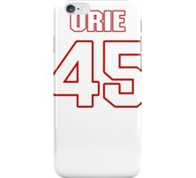 NFL Player Orie Lemon fortyfive 45 iPhone Case/Skin