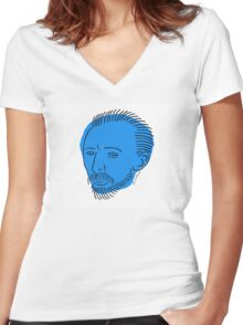 Van Gogh Women's Fitted V-Neck T-Shirt