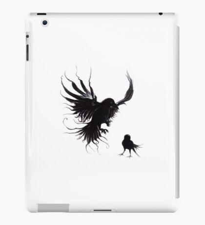 Forest Raven iPad Case/Skin
