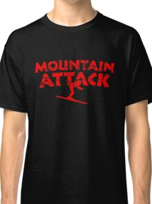 Mountain Attack Winter Sports Ski Design (Red) Classic T-Shirt