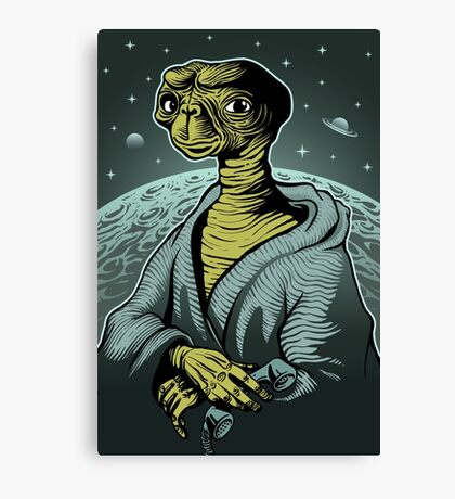 ET portrait Canvas Print
