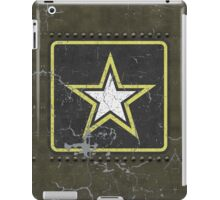 Vintage Look US Army Star Logo  iPad Case/Skin
