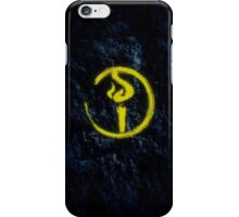Light Bearer Symbol With Black Background iPhone Case/Skin