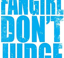 FANGIRL - DON'T JUDGE (BLUE) by Penelope Barbalios