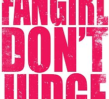 FANGIRL - DON'T JUDGE (PINK) by Penelope Barbalios