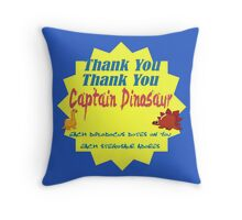 Captain Dinosaur Throw Pillow