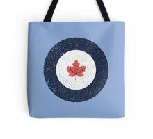 Vintage Look WW2 Royal Canadian Air Force Roundel Tote Bag