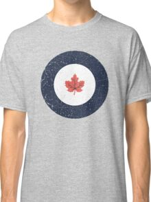 Vintage Look WW2 Royal Canadian Air Force Roundel Classic T-Shirt