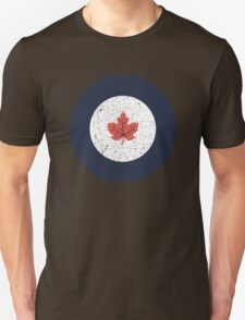Vintage Look WW2 Royal Canadian Air Force Roundel T-Shirt