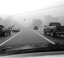 Foggy Morn on RT 2 by nastruck