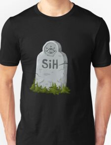 Glitch miscellaneousness graveside marker Unisex T-Shirt