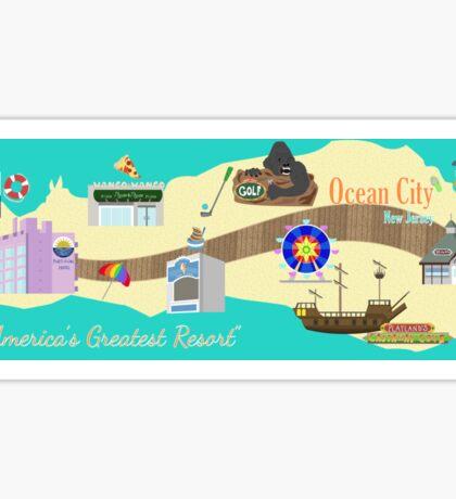 OCNJ Map Sticker