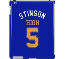 STINSON HIGH 5 (second version) iPad Case/Skin