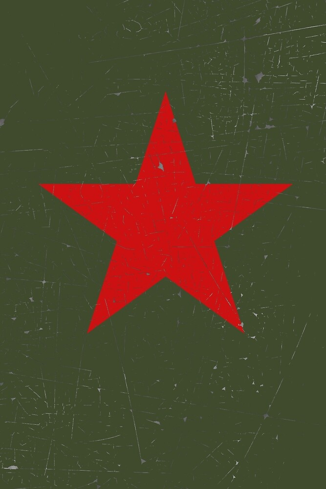 Vintage Look Russian Red Star by VintageSpirit