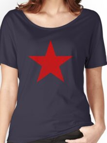 Vintage Look Russian Red Star Women's Relaxed Fit T-Shirt