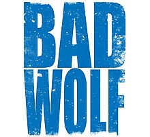 BAD WOLF (BLUE) Photographic Print