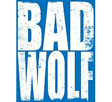 BAD WOLF (WHITE) Photographic Print