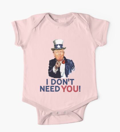 Donald Trump is Uncle Sam One Piece - Short Sleeve