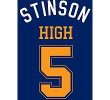 STINSON HIGH 5 Photographic Print