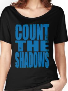 Count The Shadows (BLUE) Women's Relaxed Fit T-Shirt