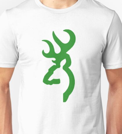 Browning - Green Unisex T-Shirt