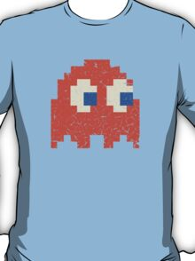 Vintage Look Arcade Pixel Ghost Man  T-Shirt