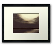 Blackwaterfoot Dusk Framed Print