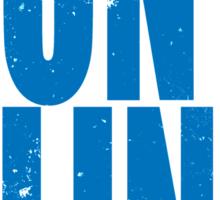 DON'T BLINK (BLUE) Sticker