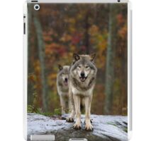 Double Trouble - Timber Wolves iPad Case/Skin