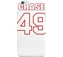 NFL Player Chase Vaughn fortynine 49 iPhone Case/Skin