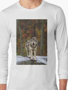 Double Trouble - Timber Wolves Long Sleeve T-Shirt