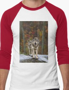 Double Trouble - Timber Wolves Men's Baseball ¾ T-Shirt