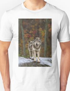 Double Trouble - Timber Wolves Unisex T-Shirt