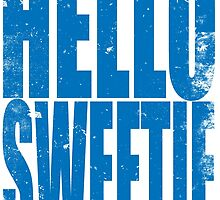 HELLO SWEETIE (BLUE) by Penelope Barbalios