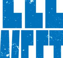HELLO SWEETIE (BLUE) Sticker