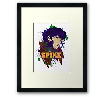 Painted Spike Framed Print
